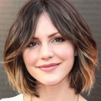 Cute Short Ombre Hair 2015