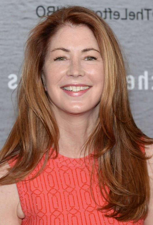 Try On Black Hairstyles Free: Dana Delany Long Layered Hairstyle For Women