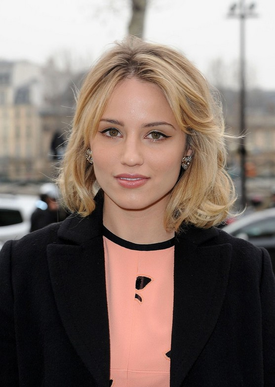 Dianna Agron Medium Hairstyles