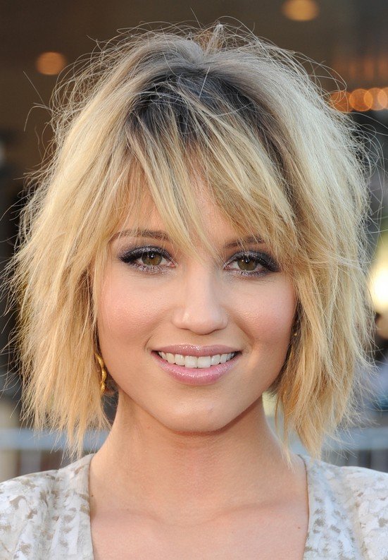 Dianna Agron Short Hairstyles