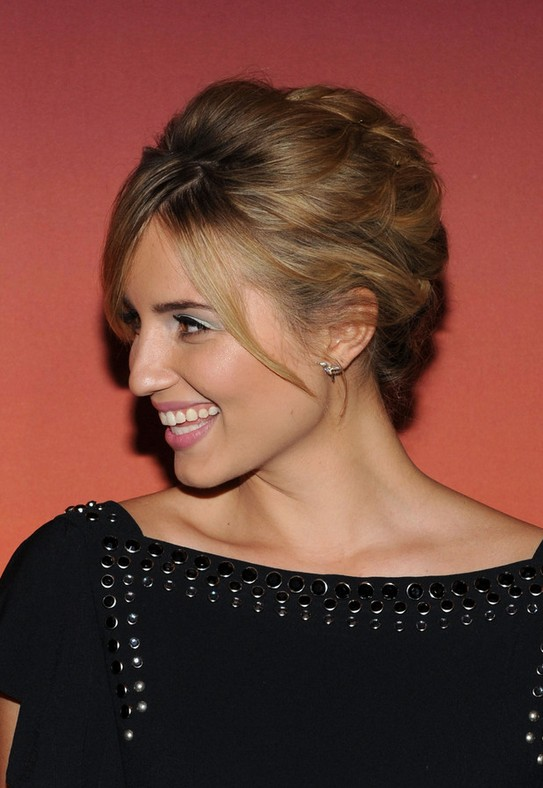 Dianna Agron Updo