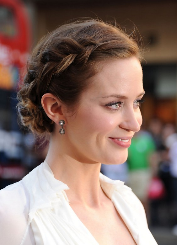 Enjoyable Emily Blunt Hairstyles Celebrity Latest Hairstyles 2016 Short Hairstyles Gunalazisus