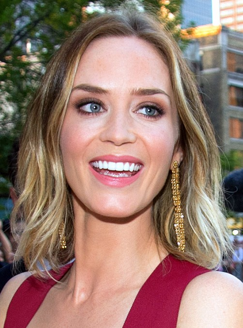 Tremendous Emily Blunt Hairstyles Celebrity Latest Hairstyles 2016 Short Hairstyles Gunalazisus