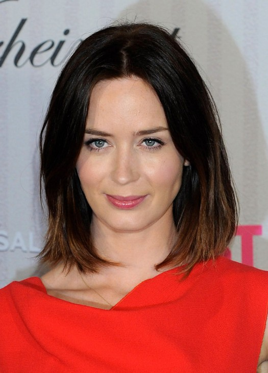 Strange Emily Blunt Hairstyles Celebrity Latest Hairstyles 2016 Hairstyle Inspiration Daily Dogsangcom