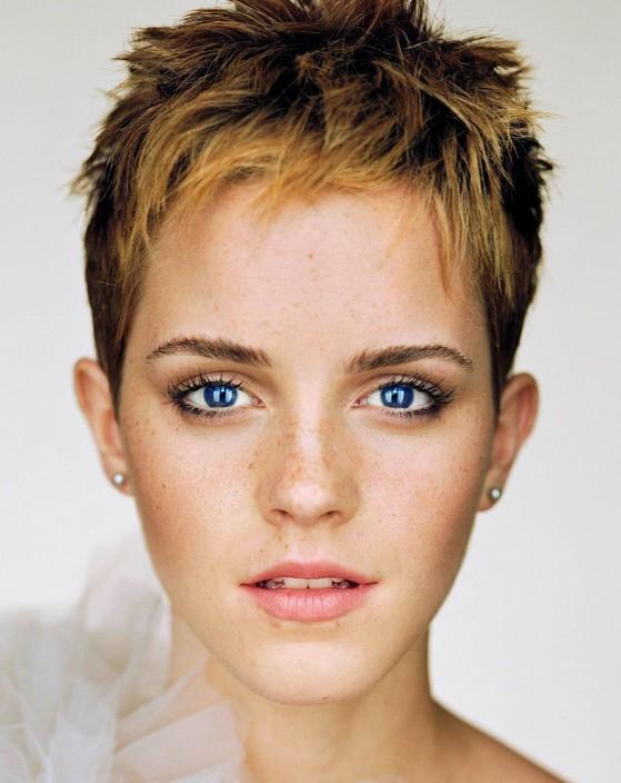 Emma Watson Boycut