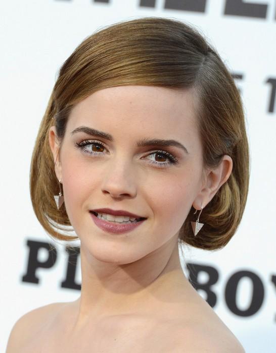 Emma Watson Retro Updo