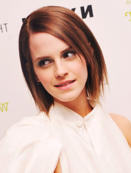 Emma Watson Short Straight Red Hairstyle Styles Weekly