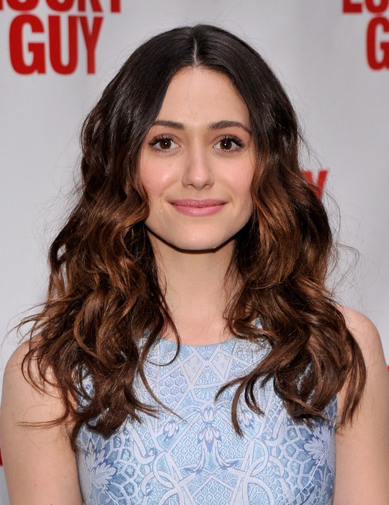 Emmy Rossum Ombre