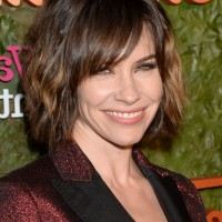Evangeline Lilly Short Messy Layered Razor Cut