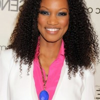 Garcelle Beauvais Naturally Curly Hairstyle for Shoulder Length Hair