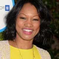 Garcelle Beauvais Short Black Wavy Hairstyle for Round Faces