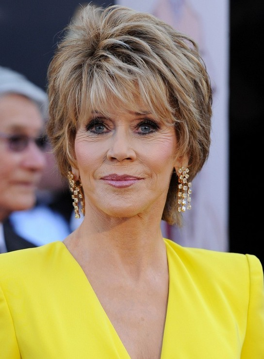Jane Fonda Short Hairstyles For Women Over 60 ...