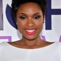 Jennifer Hudson Cool Short Teased Black Haircut for Black Women