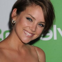 Jessica Stroup Short Sleek Hair Style For Summer