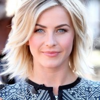 Julianne Hough Popular Layered Razor Cut for Thick Hair