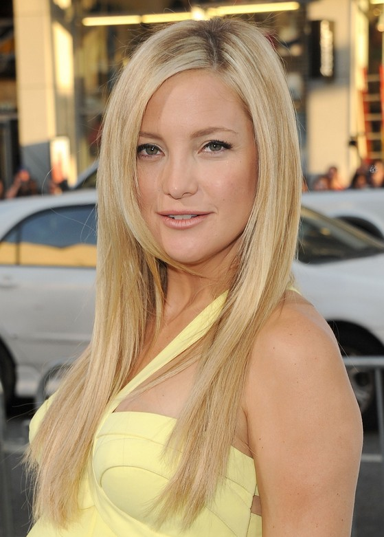 Kate Hudson Long Straight Hairstyles
