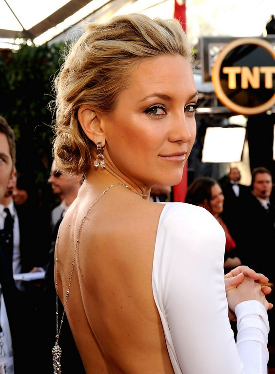 Kate Hudson Pinned Up Ringlets