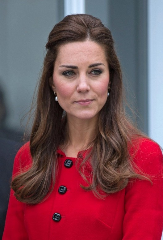 kate middleton half up half down hair styles for women