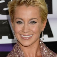 Kellie Pickler Short Straight Pixie Cut for Women