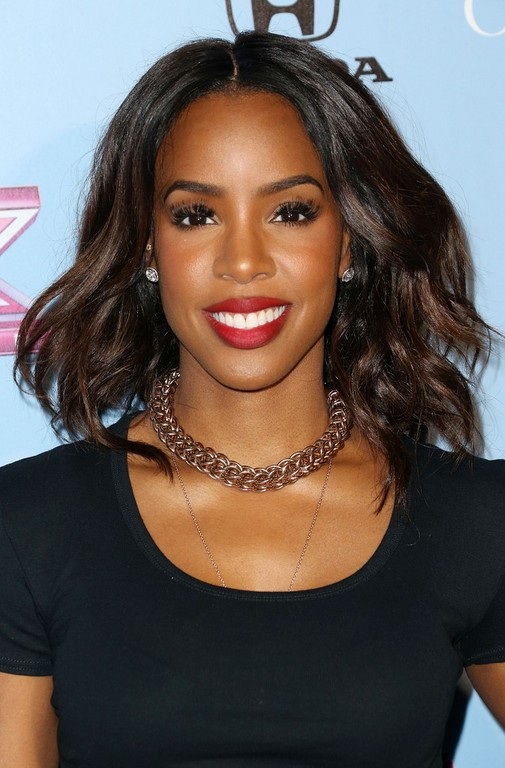 Kelly Rowland Medium Hairstyles