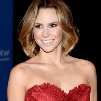 Keltie Knight Medium Wavy Bob Hairstyle