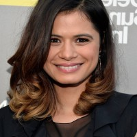 Latest Most Popular Medium Ombre Hairstyle from Melonie Diaz