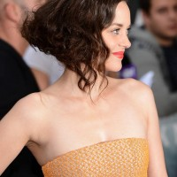 Marion Cotillard Short Curly Hairstyles