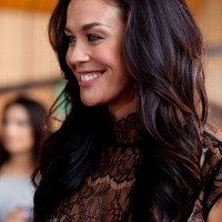 Megan Gale Hair Styles