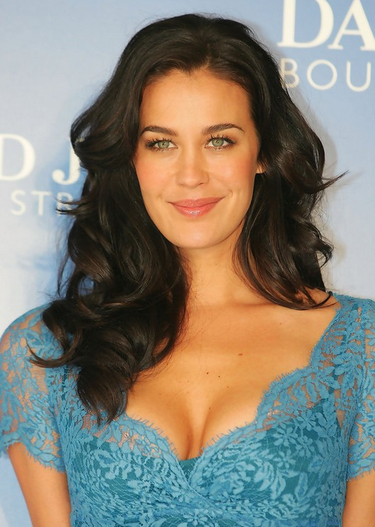 Megan Gale Long Hairstyles