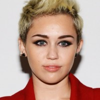 Miley Cyrus Short Fauxhawk Haircut for Oval Faces
