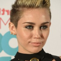 Miley Cyrus Short Spiked Fauxhawk for Girls