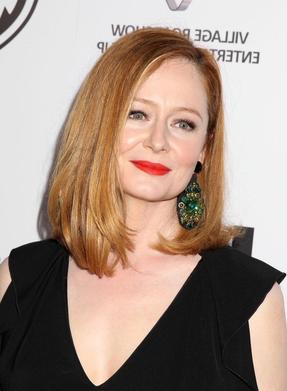 Miranda Otto Timeless Long Bob Hairstyle For Women Over 40