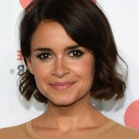 Most Popular Short Wavy Hairstyle from Miroslava Duma