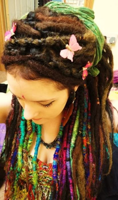 Natural Colored Dreadlocks Styles Weekly