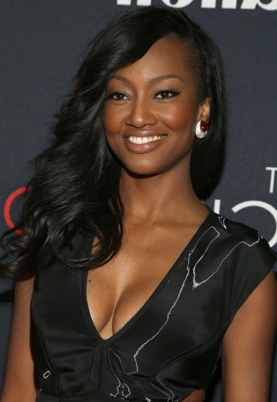 Nichole Galicia Feathered Flip Wavy Hairstyle For Black