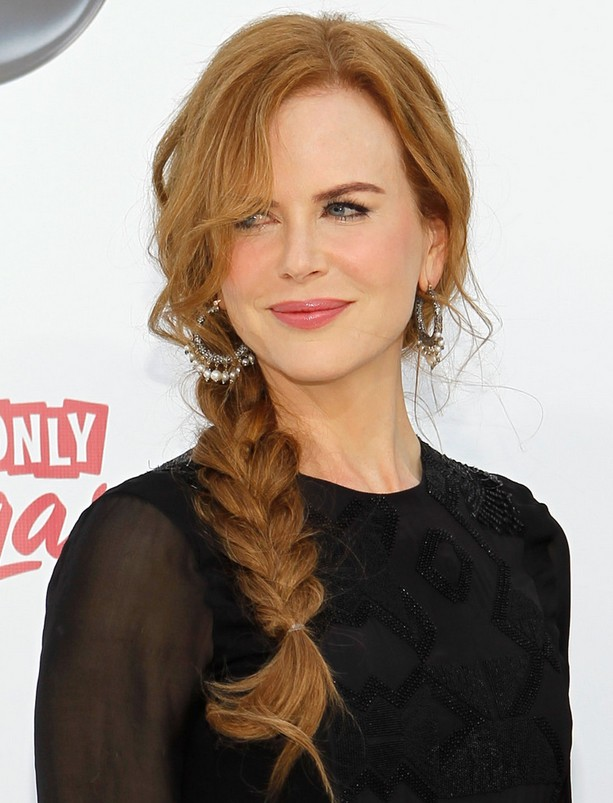 Hairstyles For Long Hair Plaits : Nicole Kidman Hairstyles - Celebrity Latest Hairstyles 2016