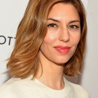 Popular Daily Medium Wavy Hairstyle from Sofia Coppola