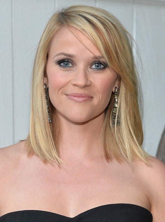 shoulder length bob haircuts reese witherspoon shoulder length bob hairstyle 1244