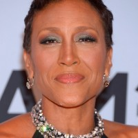 Robin Roberts Fauxhawk For Women Over 50 with Short Hair