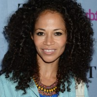 Sherri Saum Black Curly Hairstyle for Medium Hairstyles
