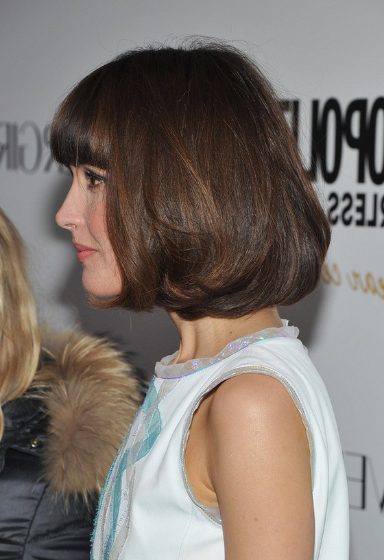 Side View Of Rose Byrne Pageboy Haircut Styles Weekly