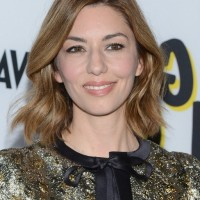 Sofia Coppola Casual Wavy Hairstyle