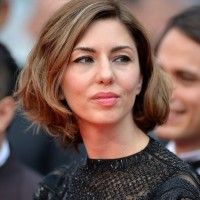 Sofia Coppola Short Wavy Haircut for Thick Hair