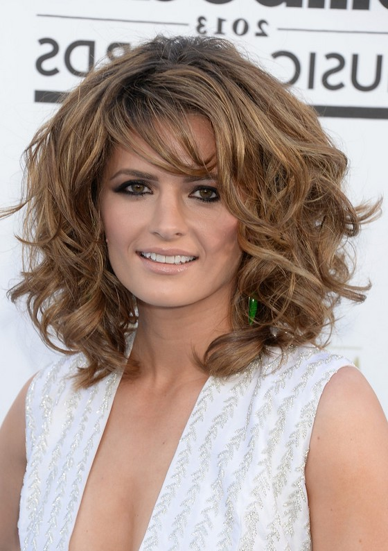 layered haircuts for curly hair with bangs layered hairstyles for thick curly hair hair 4653