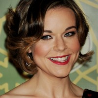Tina Majorino Chic Layered Short Razor Cut
