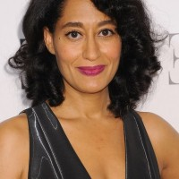 Tracee Ellis Ross Medium Wavy Curly Hairstyle for Women Over 40