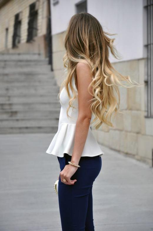 Trendy Ombre Hair Color Ideas