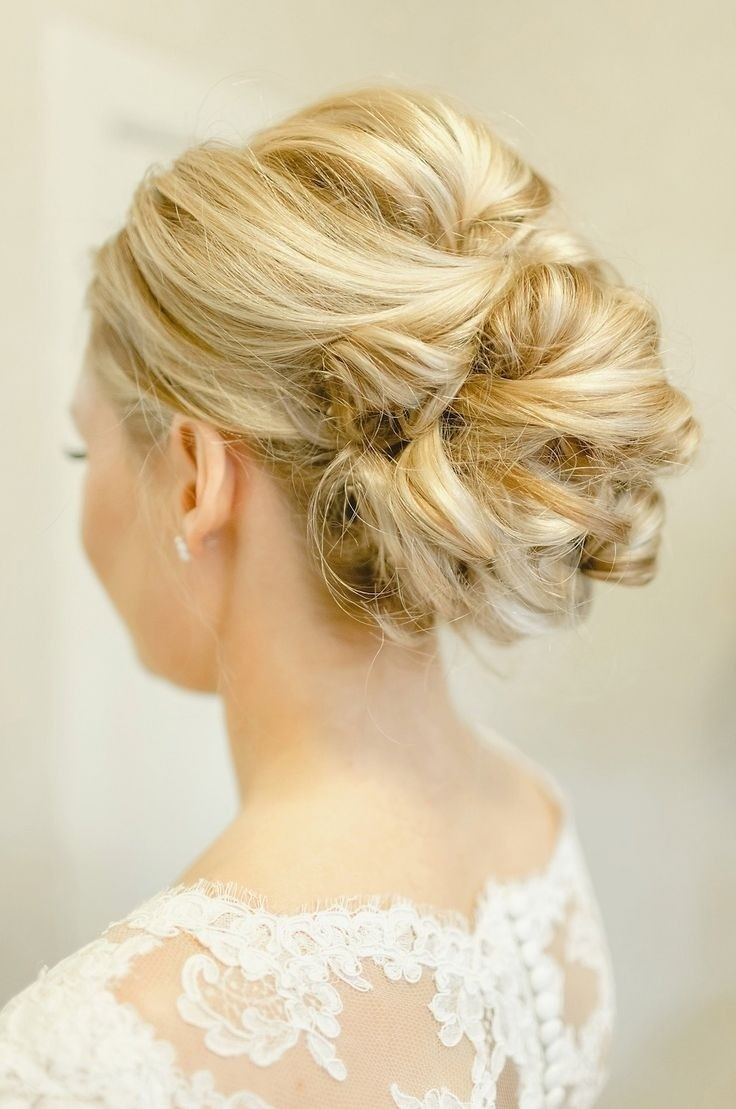 Twisted Updo for Bridal: Wedding Hairstyles