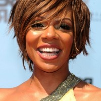 Wendy Raquel Robinson Layered Razor Cut