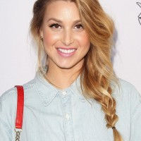 Whitney Port Braided Hairstyles